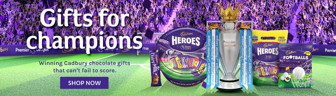 Cadbury Football Premier League Hampers