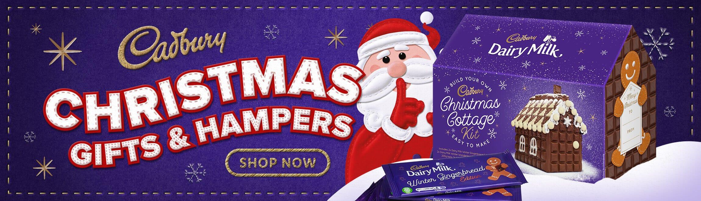Cadbury Christmas Gifts & Hampers