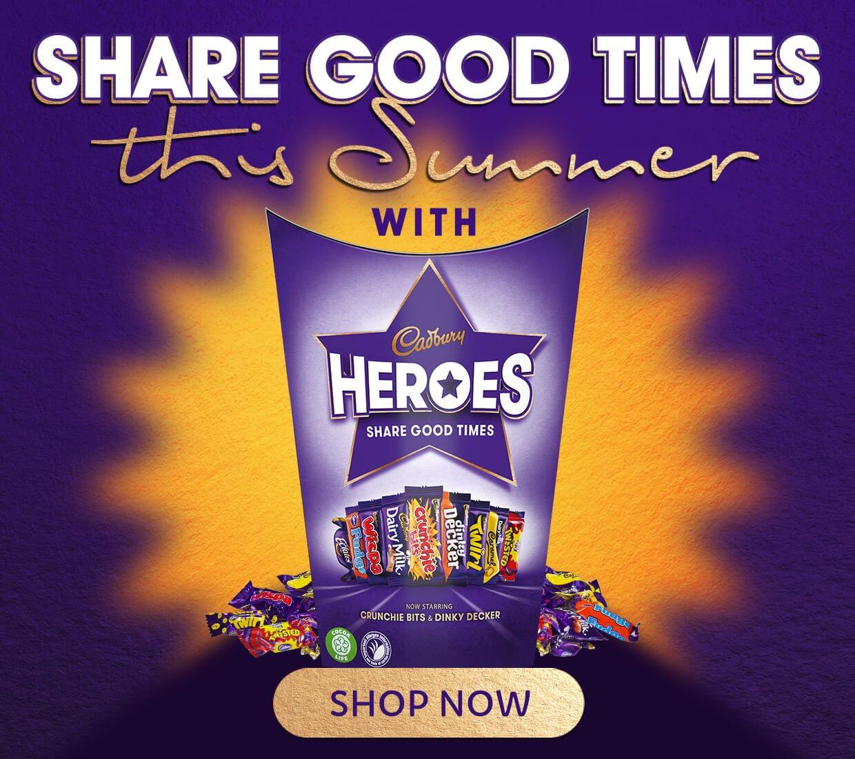 Cadbury Heroes Gifts and Tins