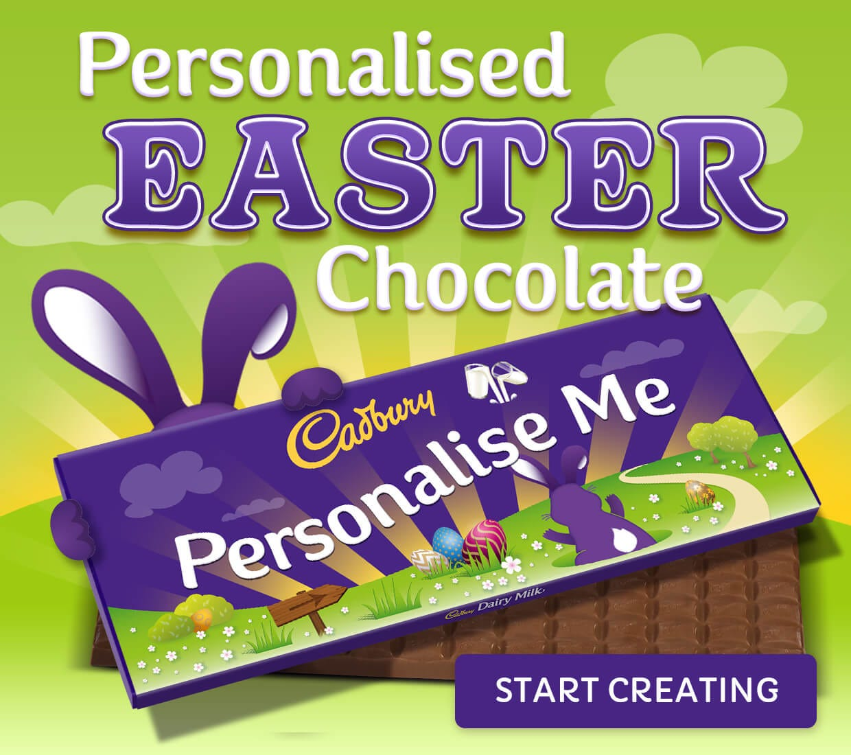 Easter personalised Chocolate