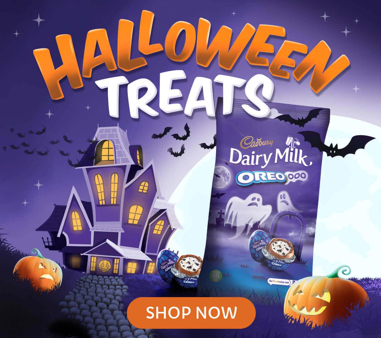 Cadbury Halloween sweets and chocolate Gifts