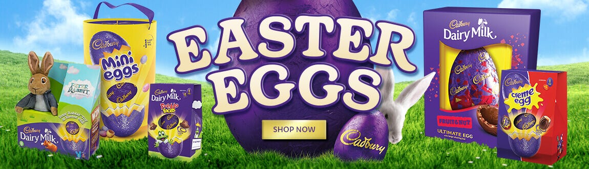 Cadbury Easter Eggs, Creme Eggs and Mini Eggs