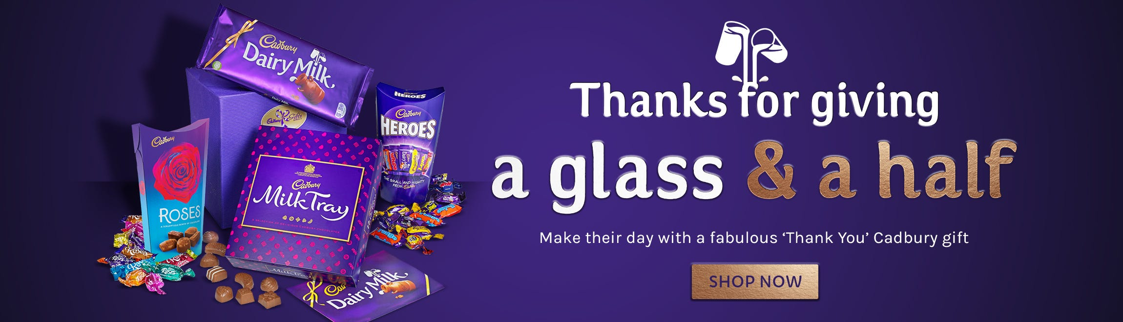 Say Thank You with a Cadbury Gift