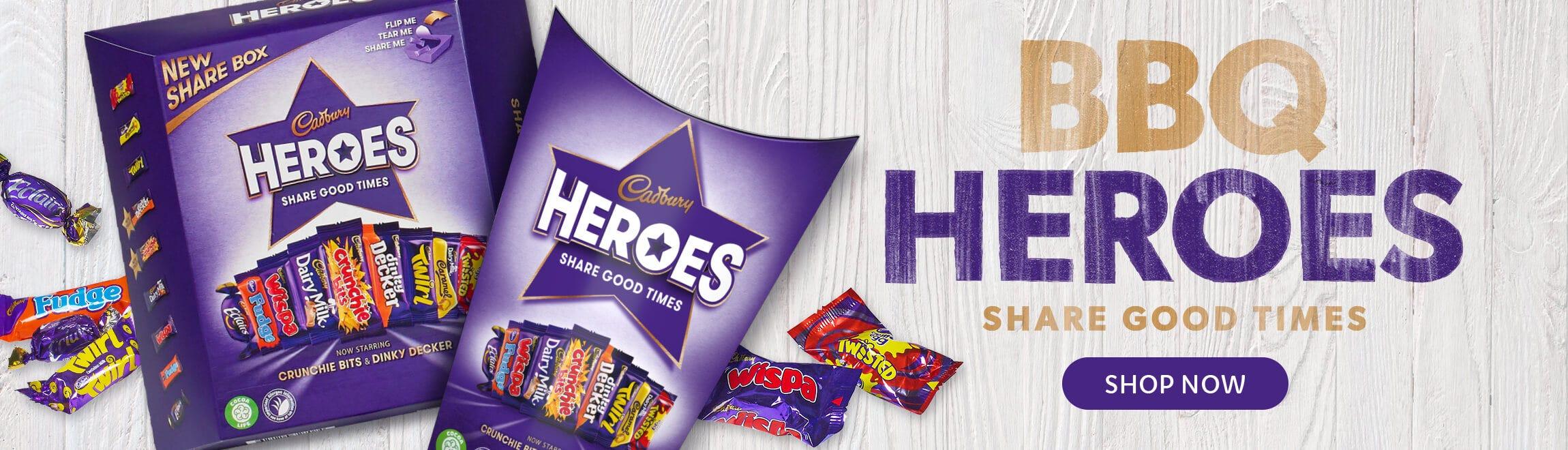 Cadbury Heroes Chocolates