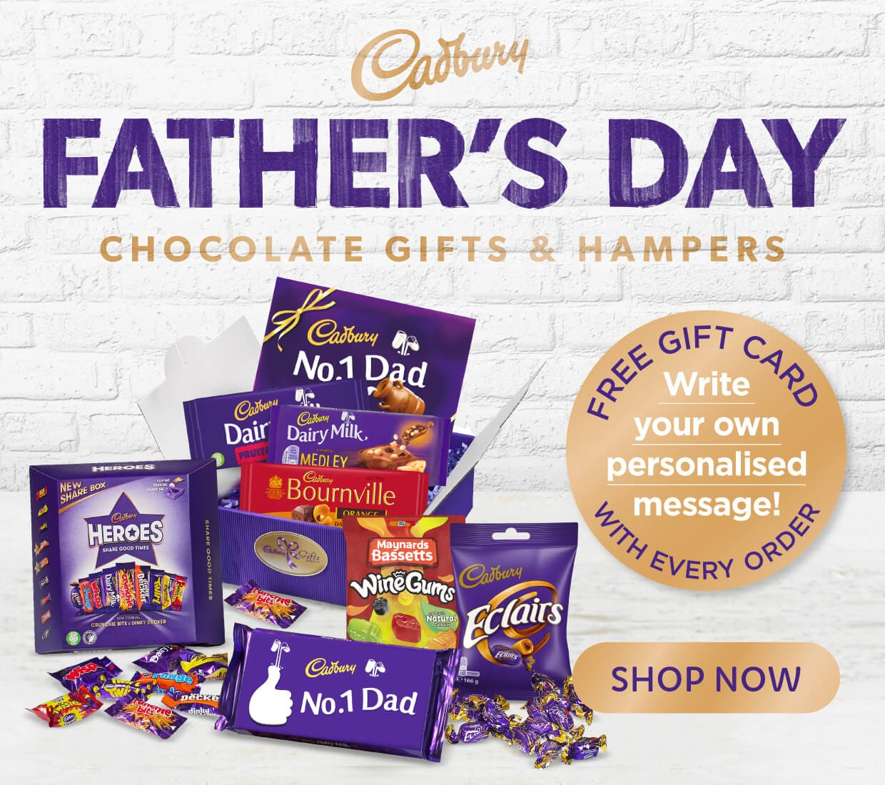 Cadbury Father's day Gifts