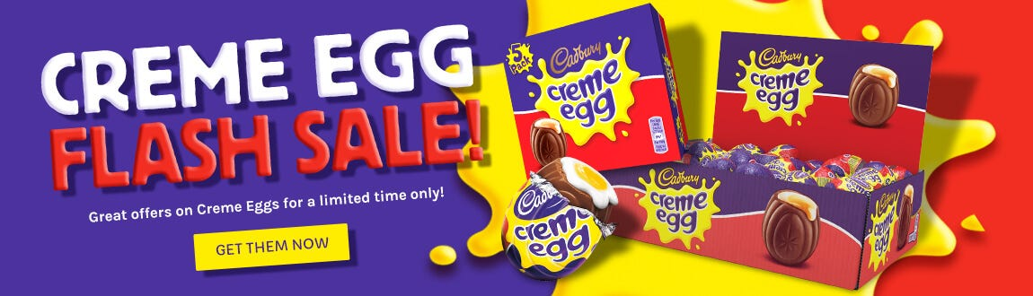 Flash Creme Egg Sale - They'll be goo before you know it!
