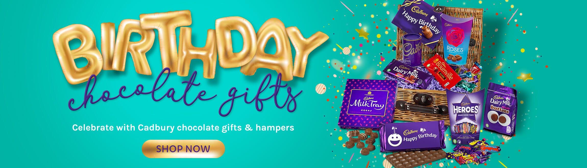 Cadbury Birthday Chocolate Gifts