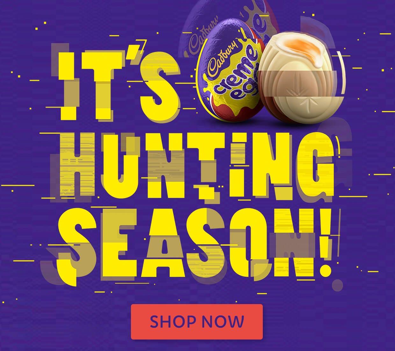 It's Hunting Season!