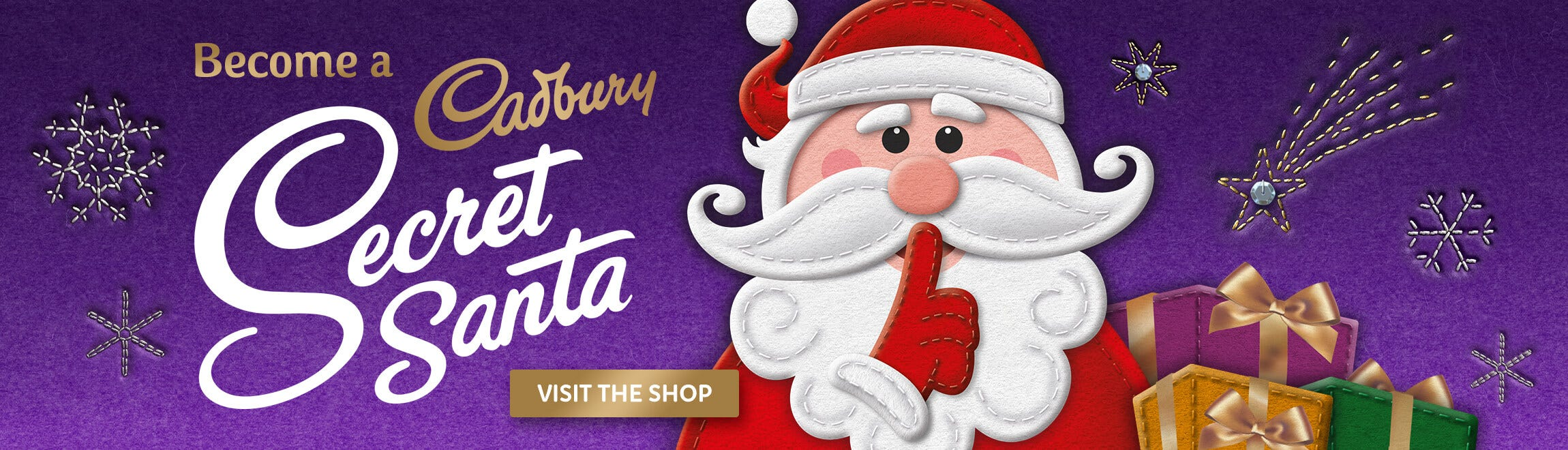 Cadbury Secret Santa Shop