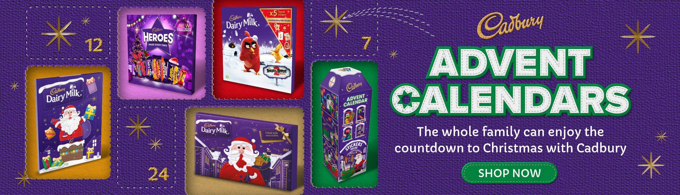 Cadbury Chocolate Advent Calendars