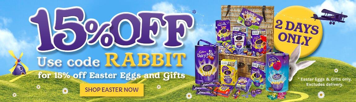 Cadbury Easter Eggs and Easter Hamper offer
