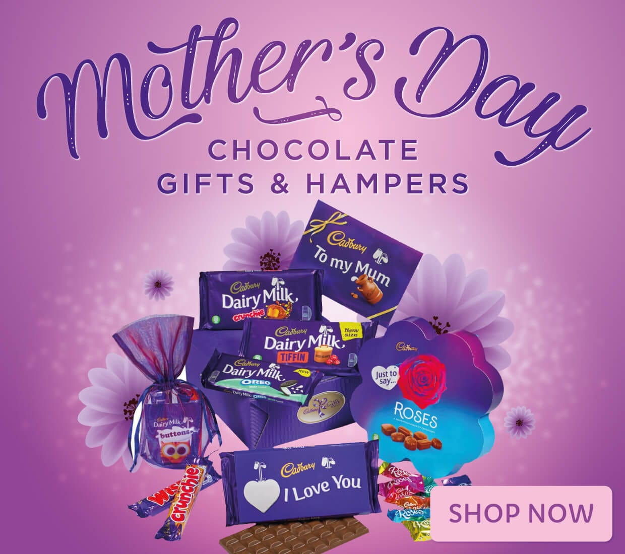 Cadbury Chocolate Mother's Day Gifts