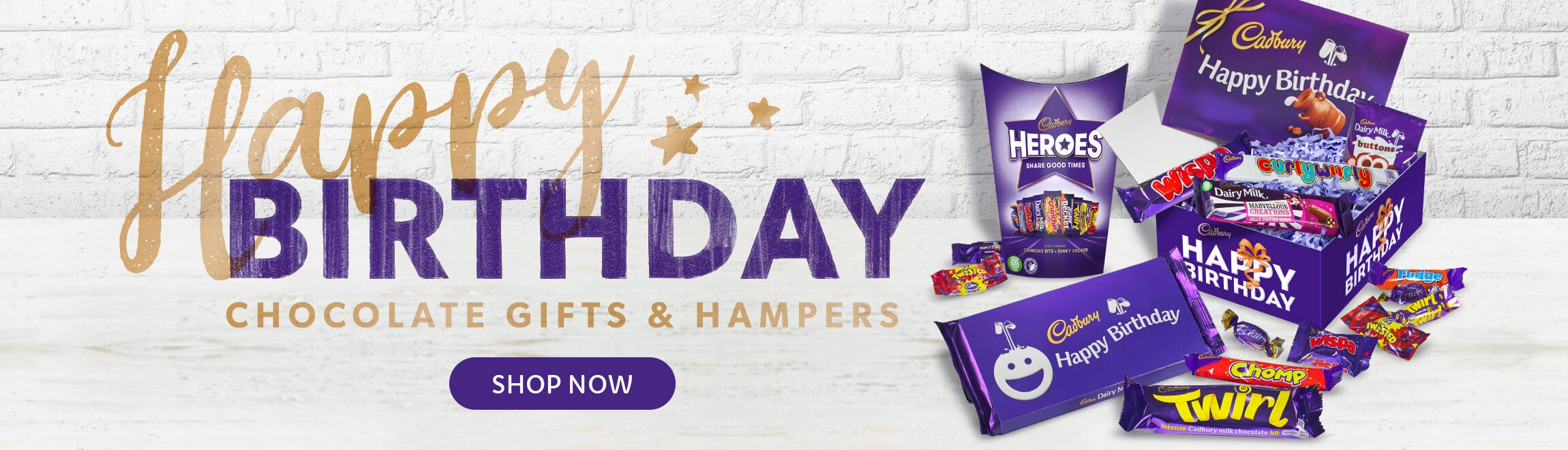 Cadbury Birthday Gifts and Hampers