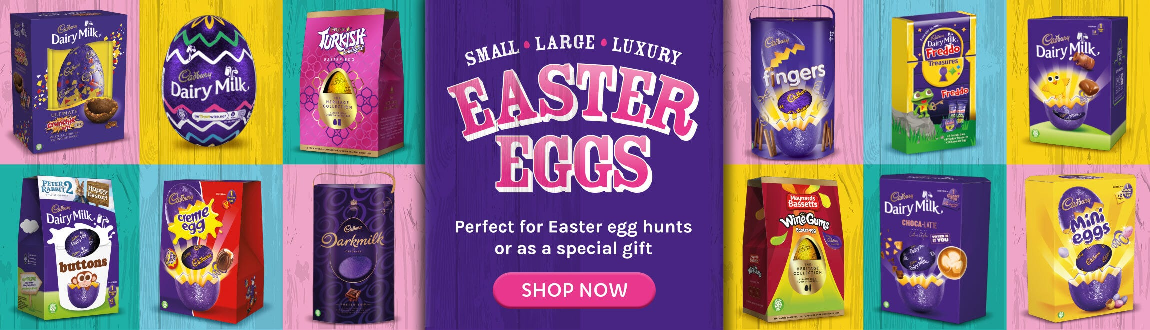 Cadbury Chocolate Easter Eggs