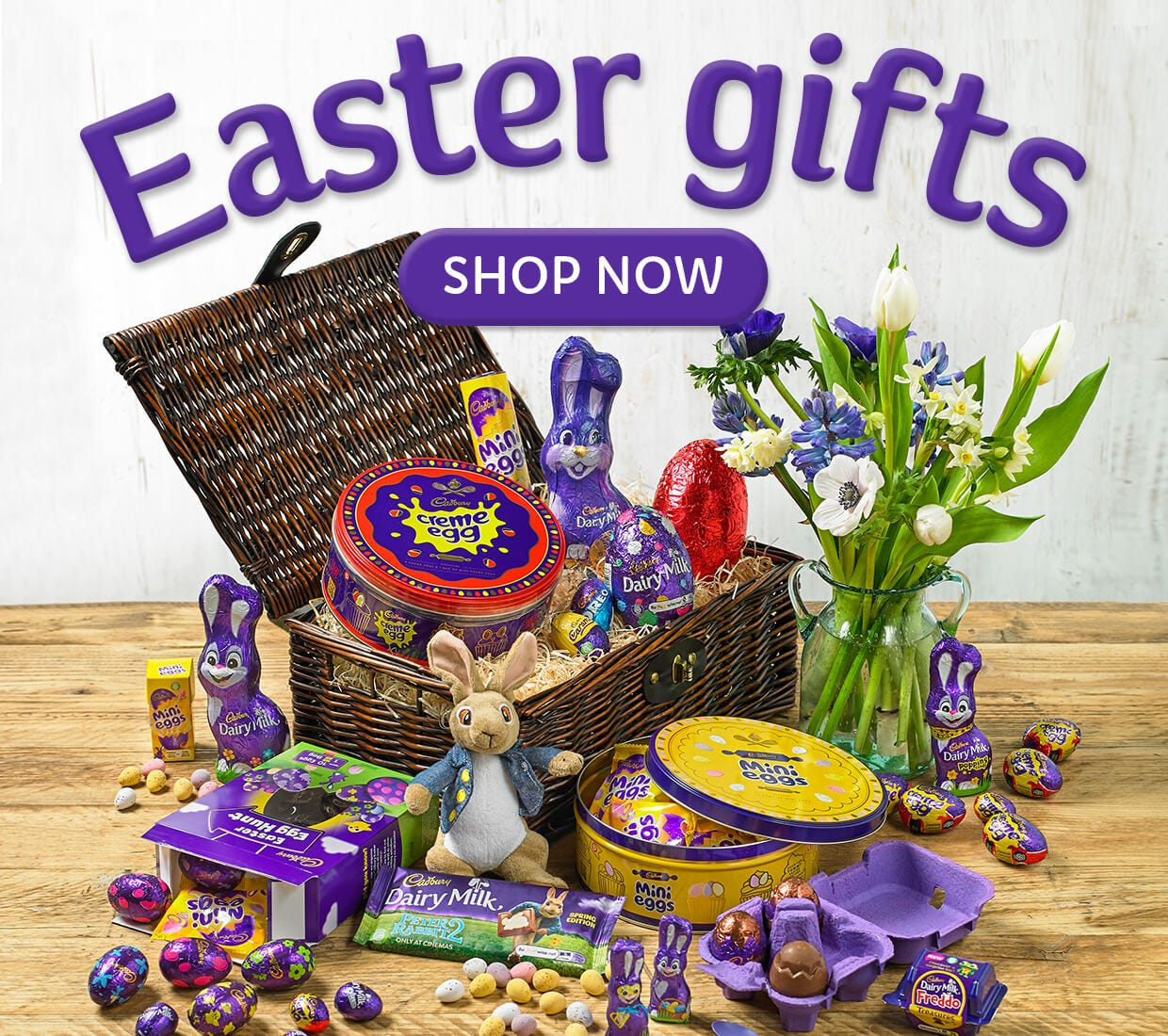 Cadbury Easter Chocolate Eggs, Easter Gifts and Baskets