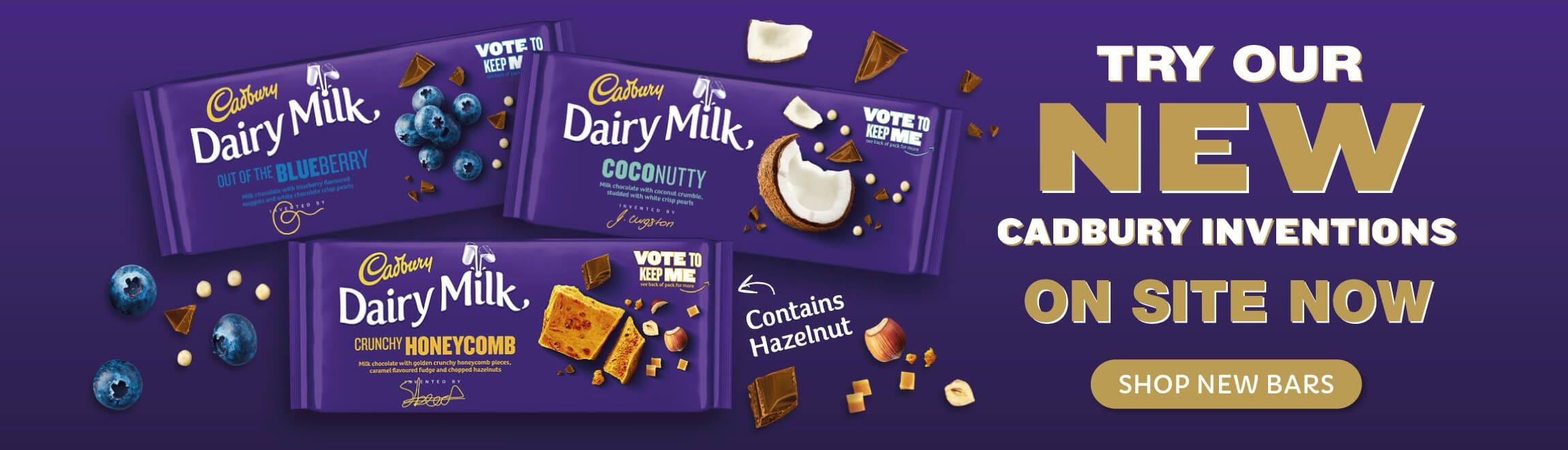 Cadbury New Dairy Milk Bars 2020