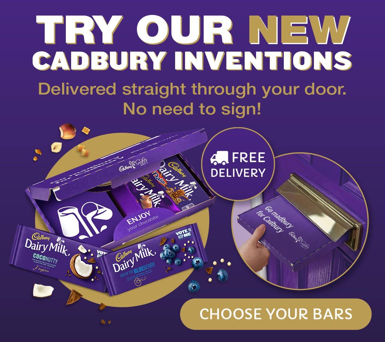 Cabury New Dairy Milk Bars by post