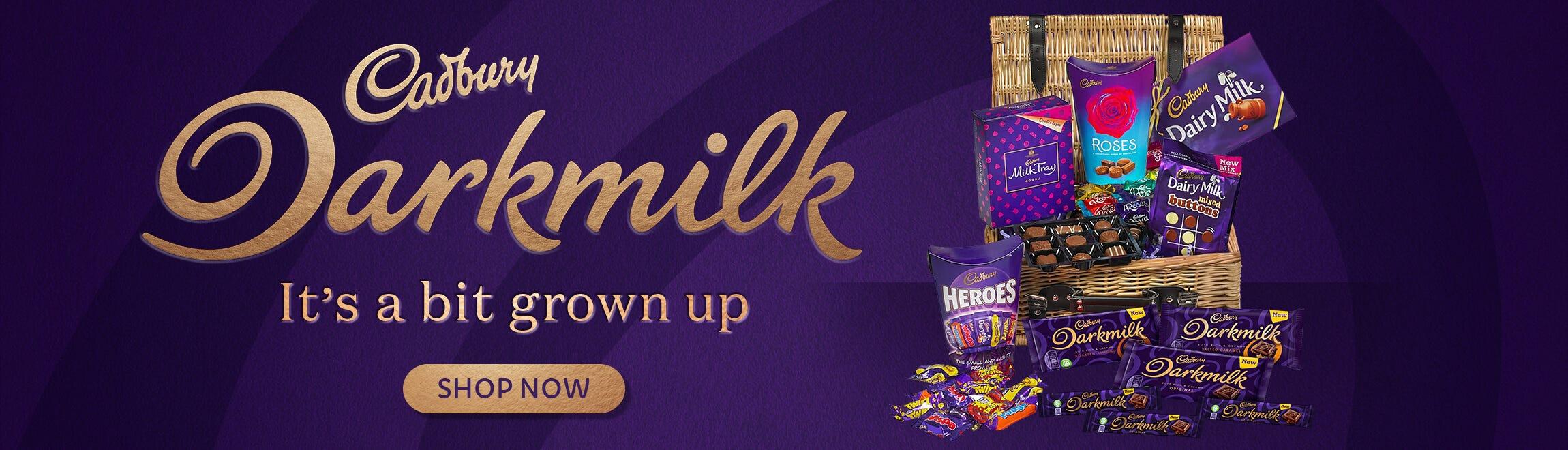 Cadbury Darkmilk - it's a bit grown up