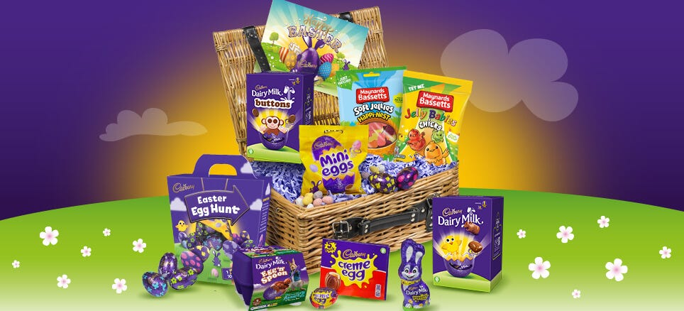 Easter Egg Chocolate Hampers
