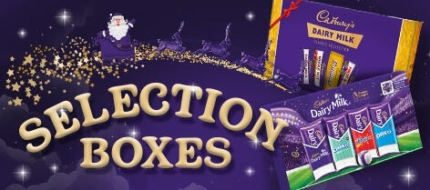 Cadbury Christmas Chocolate Selection Boxes