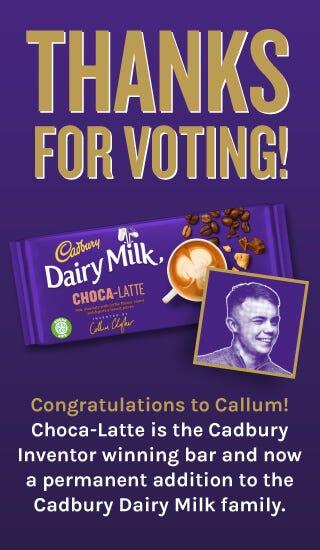 Visit Cadbury Inventor
