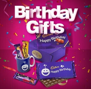 Cadbury Birthday Gifts