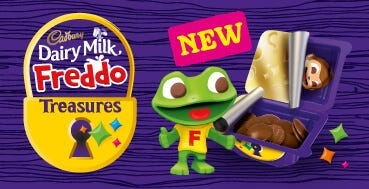New Dairy Milk Freddo Treasures