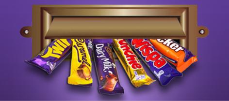 Cadbury hide and find