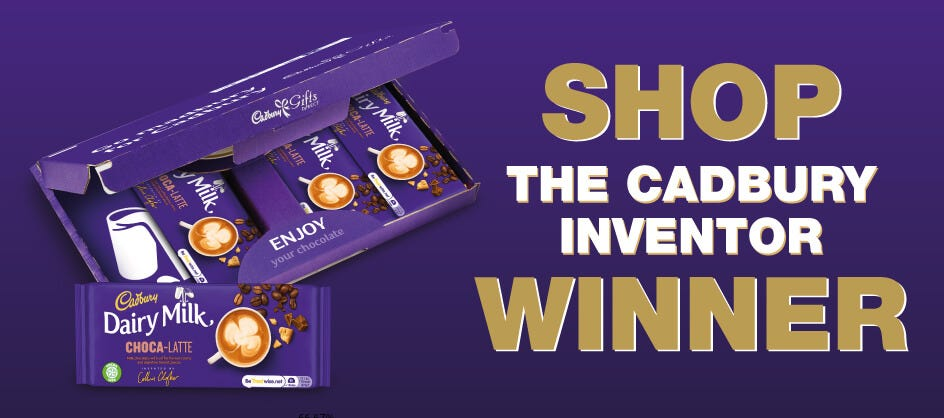 Cadbury Inventions Selection box