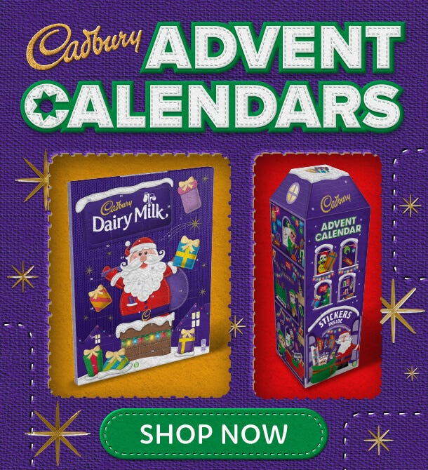 Cadbury Chocolate Advent Calendars