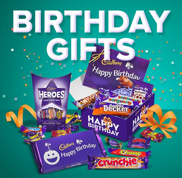 Cadbury Birthday Chocolate Hampers