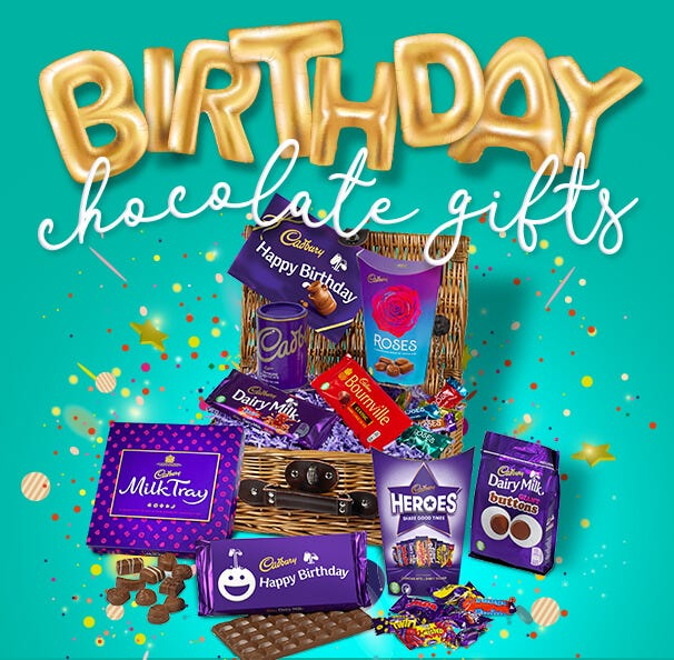 Cadbury Chocolate Birthday Gifts