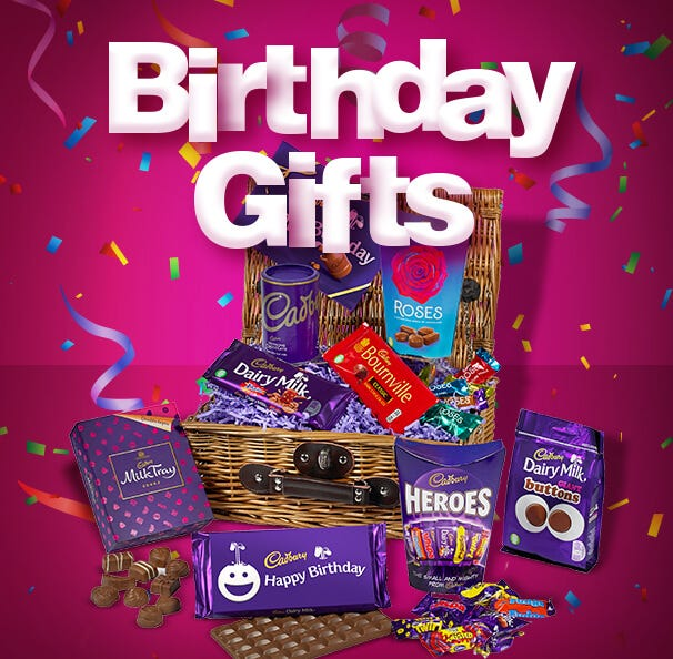 Cadbury Birthday Chocolate Gifts