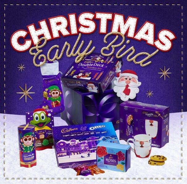 The Christmas Cottage 2019.Cadbury Dairy Milk Christmas Cottage Kit House Cadbury
