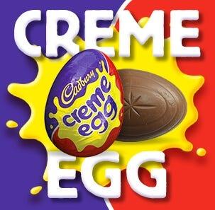 Creme eggs and creme egg gifts