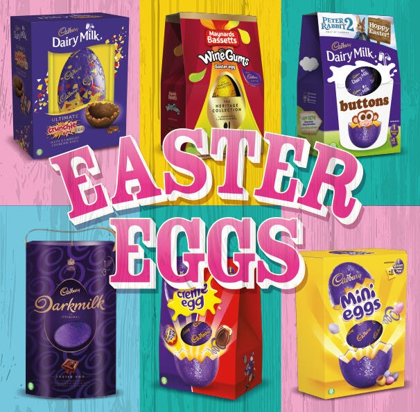 Cadbury Easter Eggs
