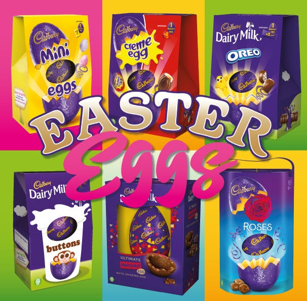 Cadbury Chocolate Easter Eggs