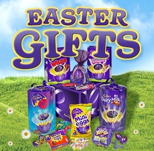 Cadbury Easter Gifts and Hampers