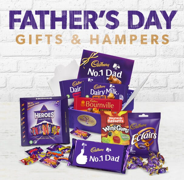 Cadbury Father's Day Chocolate Gifts