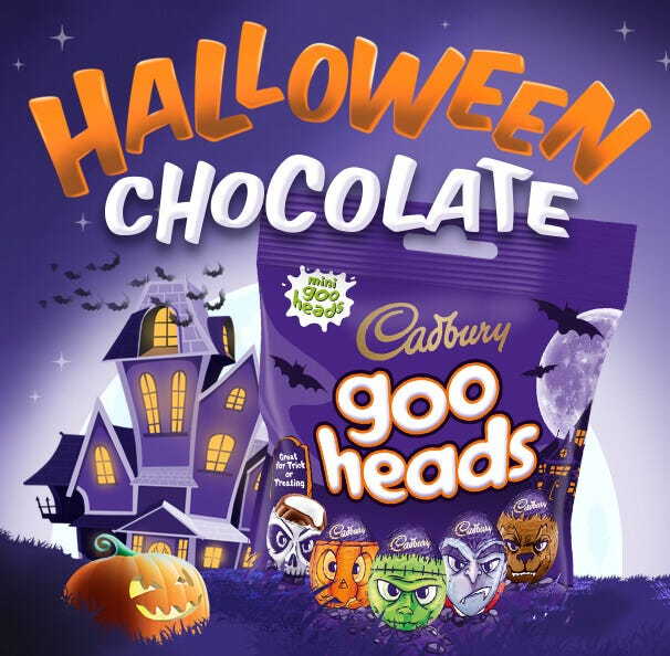 Cadbury Halloween Chocolate Gifts