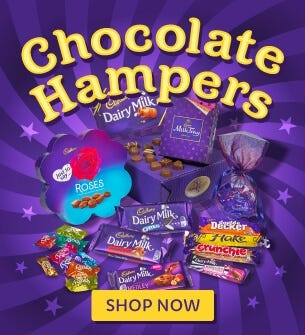Cadbury Chocolate Hampers and Gifts