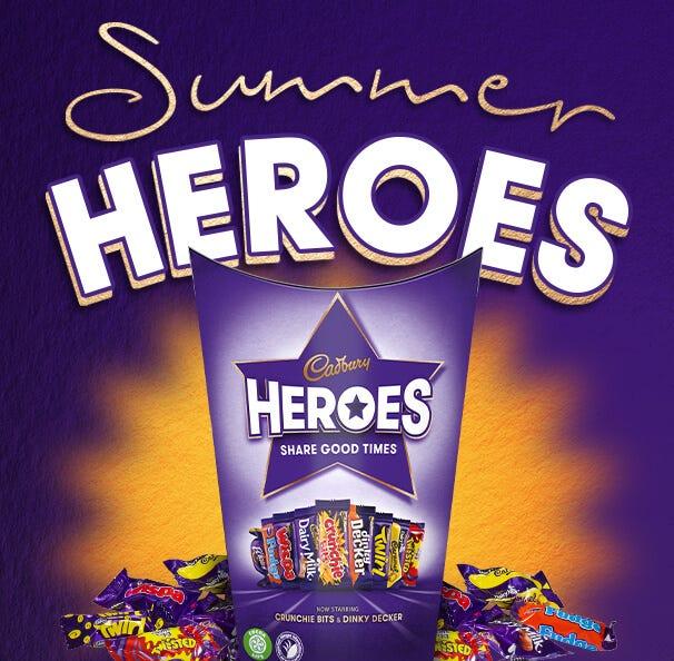 Cadbury Heroes Chocolate Gifts
