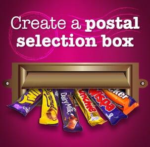create postal selecion box image