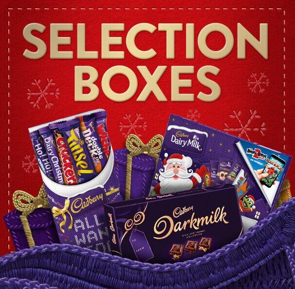 Cadbury Christmas Selection Boxes