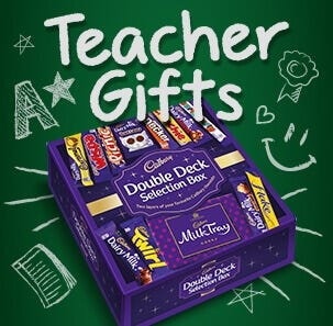 Cadbury Teacher thank you Gifts