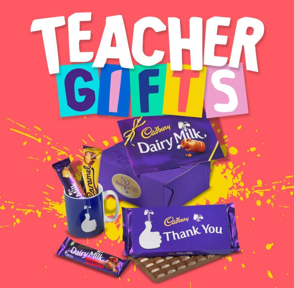 Cadbury Chocolate Teacher's Thank You Gifts