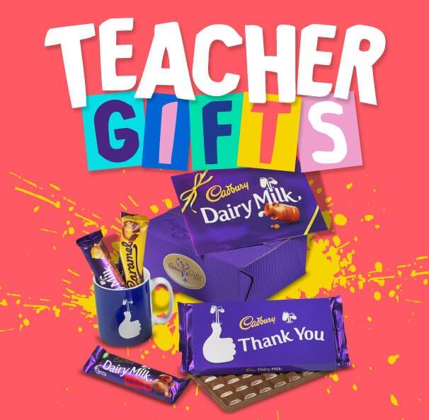 Cadbury Chocolate Teacher's Thank You Gifts