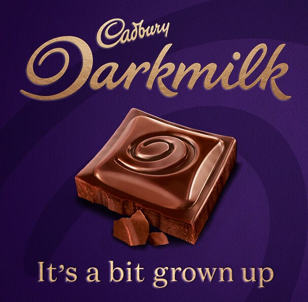 Cadbury Darkmilk Gifts