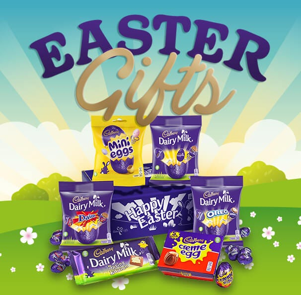 Cadbury Easter Egg Chocolate Hampers