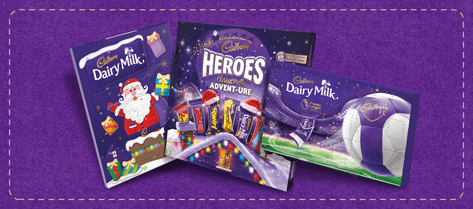 Cadbury Christmas Advent Calendars